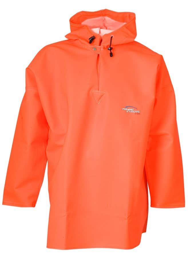 link to PPG workwear bright orange Elka extreme fishing wear